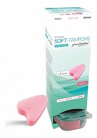 Soft-Tampons Mini - Dispenser Box of 10