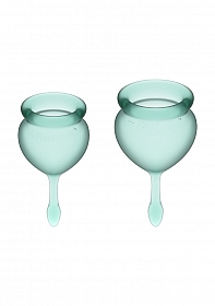 Feel Good Menstrual Cup - Dark green