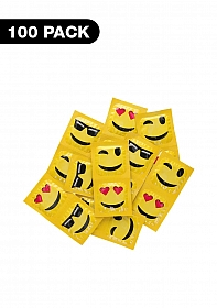 Emoji Condoms - 100 pack