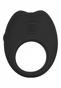 COLT® Silicone Rechargeable Cock Ring - Black