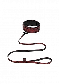 Sweet Anticipation Collar & Lead - Red