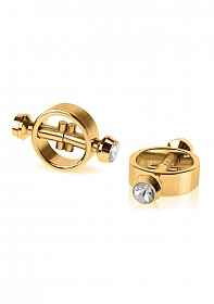 Magnetic Nipple Clamps - Gold