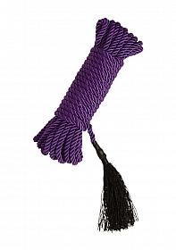 Black Rose Bondage Rope