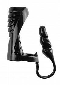 Extreme Enhancer with Anal Plug - Black