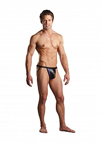 Zipper Jock - Blue / Black