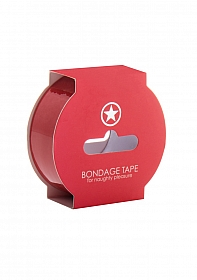 Non Sticky Bondage Tape - 17,5 Meter - Red