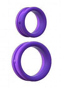 Fantasy C-Ringz Max-Width Silicone Rings - Purple