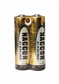 Naccon Alkaline LR6 Battery AA - 2 pack