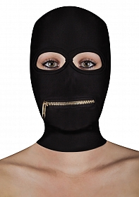 Extreme Zipper Mask with Mouth Zipper