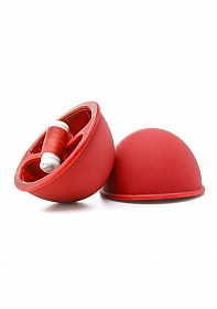 Vibrating Suction Cup - Red