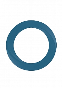 Infinity - Thin - Large Cockring - Blue