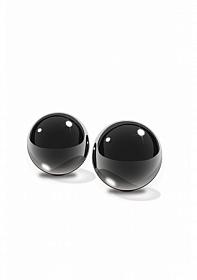 Black Glass Ben-Wa Balls S