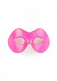 Diamond Moulded Mask - Pink