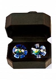 CyberGlass Ben Wa Balls - Blue Blossom