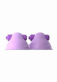 Vibrating Nipple Suck-Hers - Purple