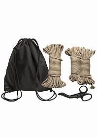 Bind & Tie Initiation Kit - 5 Piece Hemp Rope