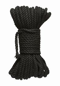 6mm Hemp Bondage Rope - 50 Ft. Black