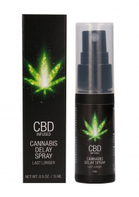 CBD Cannabis Delay Spray - 15 ml
