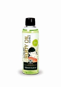 SHIATSU Luxury body oil - lime - 100 ml