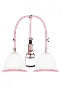 Breast Pump Set Large - Rose Gold