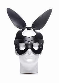 Bad Bunny Bunny Mask - Black