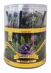 Cannabis Lollies Blueberry HaZe - Giftpack - 10 pieces