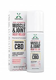 Muscle and Joint Heat Relief Roll On - 500 MG - 90g
