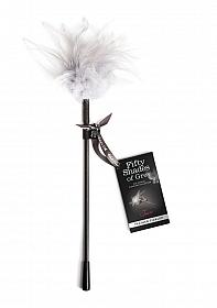 Tease Feather Tickler - Black/White