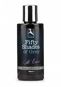At Ease Anal Lubricant - 100 ml - Black
