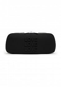 LOVE Medium Storage Bag - Black
